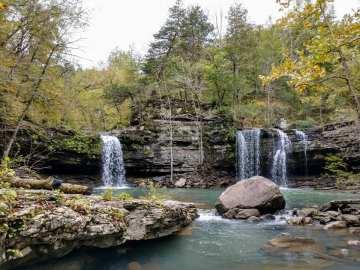 Twin Falls - Devil's Fork Creek