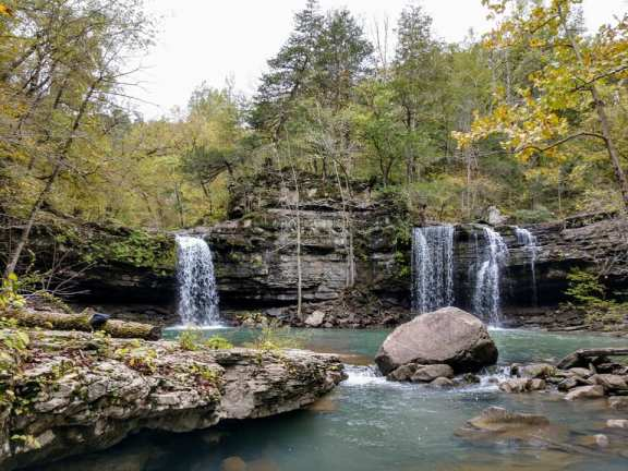 Twin Falls - Devil's Fork Creek